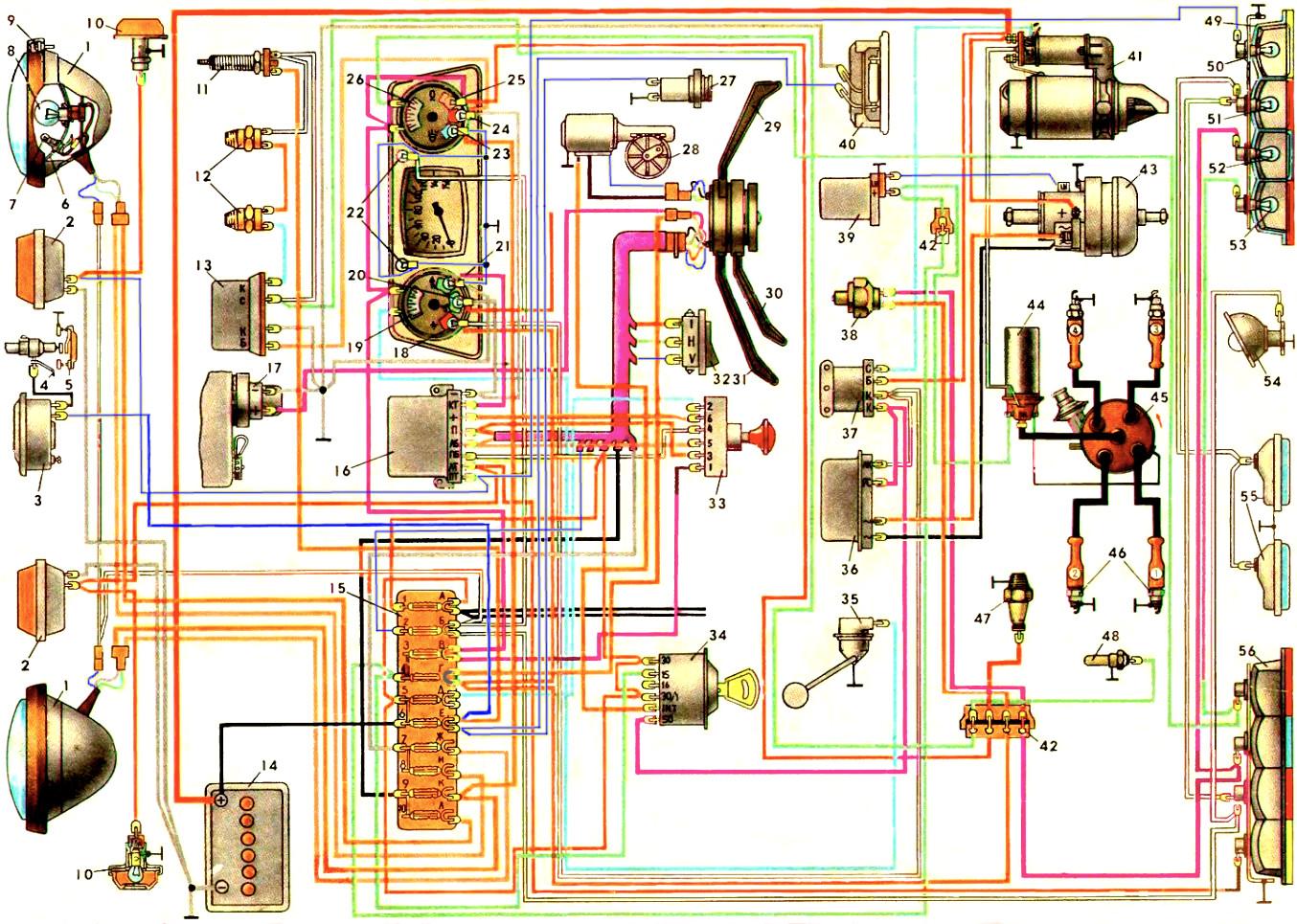 приборы ЗАЗ-968М - Часть 1