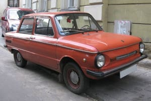 Автомобиль Запорожец ЗАЗ-968М (photo by SuperTank17 / commons.wikimedia.org / CC BY-SA (https://creativecommons.org/licenses/by-sa/3.0))